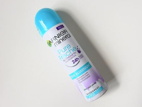 Preview: Garnier Pure Frische Roll-On & Spray