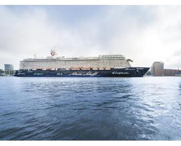 Taufe der Mein Schiff 5 im Internet  – TUI Cruises überträgt Taufe mit Lena Meyer-Landrut per Live-Stream