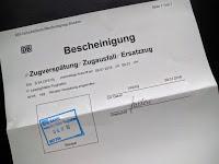Reiseerlebnisse mit der Deutschen Bahn - die 1001.