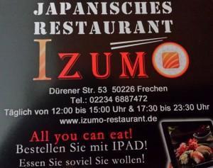 Izumo – Frisches Sushi in Frechen