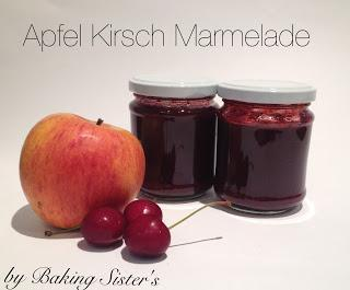 Apfel Kirsch Marmelade - Teil 6 unserer Kirsch Woche