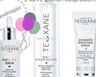 [Gewinnspiel] Beauty Birthday Box by TEOXANE- Produkte im Gesamtwert von 1185€ gewinnen plus 30% Rabattcode für euch