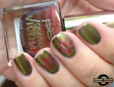 [Nails] Lacke in Farbe ... und bunt! OLIVGRÜN mit models own Beetle Juice