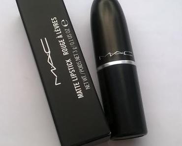 M·A·C Matte Lipstick Velvet Teddy + MAC Mineralize Skinfinish Soft & Gentle + Smashbox Gewinn :-D