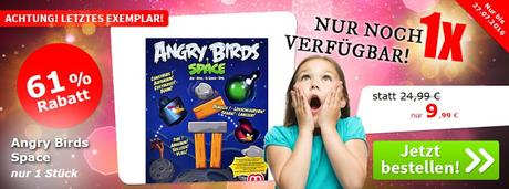 Spiele-Offensive Aktion - Gruppendeal Angry Birds Space