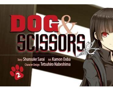 Manga-Review: Dog & Scissors Band 2