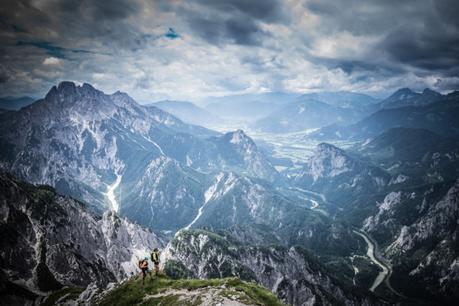 Gesäuse: über den Wasserfallsteig auf die Planspitze
