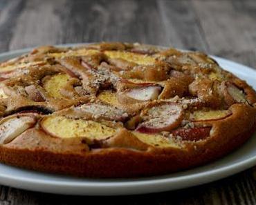 Nektarinen-Pfirsich Kuchen