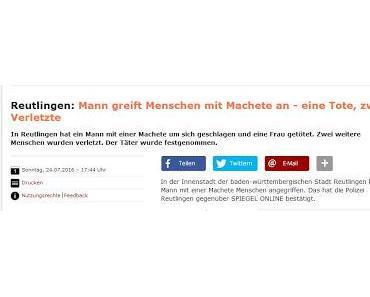 Nach München melden auch Reutlingen und Niedersachsen psychisch instabile Einzelfälle