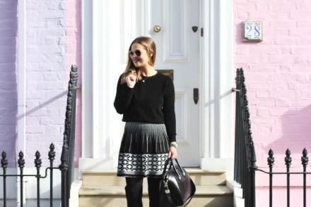 outfit skirt overtheknee boots 7