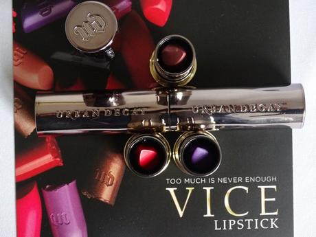 Urban Decay VICE Lipsticks | 714, Backtalk, Pandemonium
