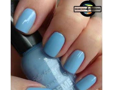 [Nails] Lacke in Farbe ... und bunt! HELLBLAU mit Sally Hansen 240 Babe Blue