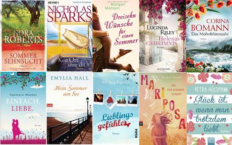 [TopTenThursday] 10 Bücher, die zum Sommer passen