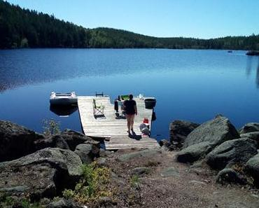 Unser erster Urlaub in unserer Schweden-Hütte