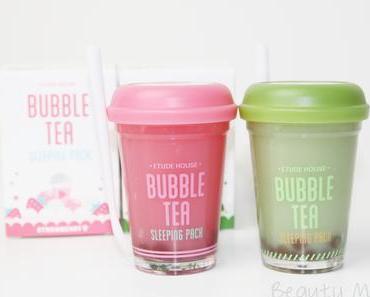 [Review] Etude House Bubble Tea Sleeping Pack