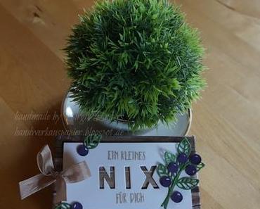 """Ein kleines """"Nix"""" zum Geburtstag"""