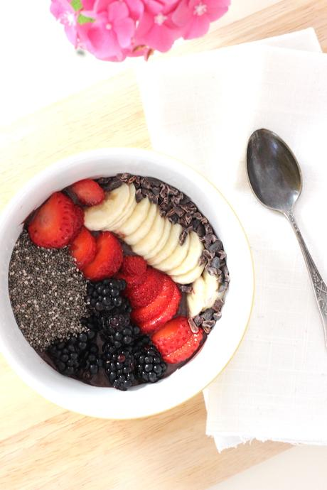 food recipe acaí bowl, attila hildmann, denn's, bio