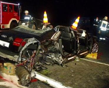 Tödlicher Motorradunfall A27