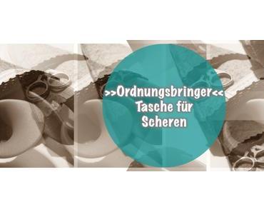 {Projekt-KreativEcke} Tasche für Scheren