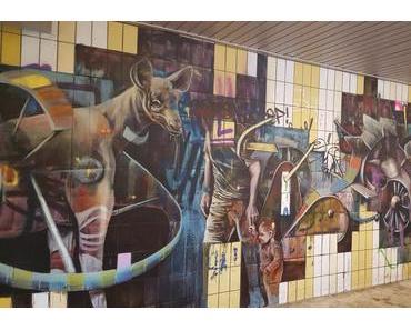 Im Großstadtdschungel: Kunst unter der Kurpfalzbrücke
