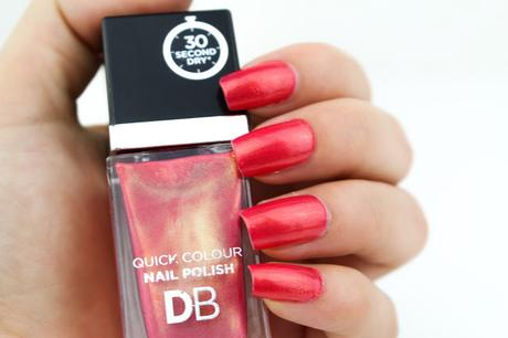 [NOTD] Designer Brands Quick Colour Nail Polish