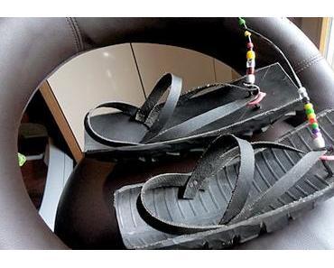 Autoreifen-Sandalen aus Tansania