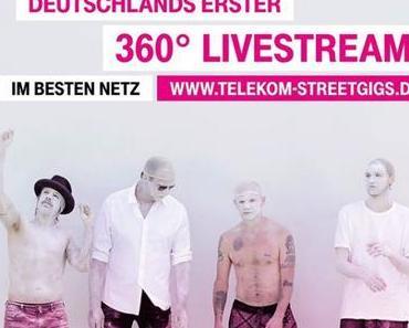 Telekom Street Gigs – Red Hot Chili Peppers live und exklusiv – wie immer gibt's die Tickets nur zu gewinnen!