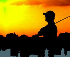 Golfen Am Wochenende Im Wohnzimmer
