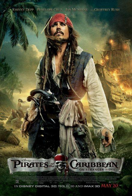 Pirates of the Caribbean 4: Neues Poster