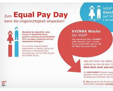 Equal Pay Day: KVINNA Woche bei IKEA