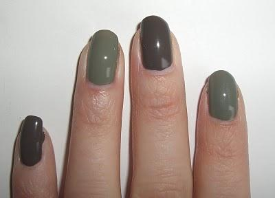 Khaki Nails (Essie Sew Psyched Dupe)