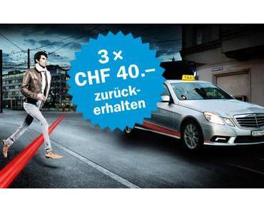 Autoversicherung zahlt Taxi-Gebühr
