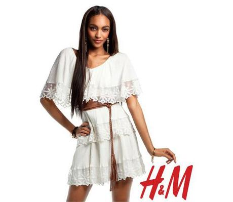 H&M; Lookbook: Romantic Preppy