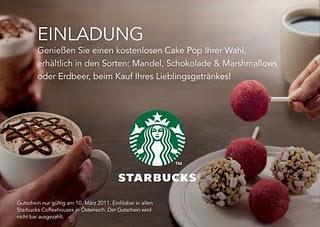 Starbucks Cake Pops Pirate
