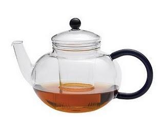 Glas Teekannen aus Jena
