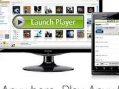 """Amazon """"Cloud Player"""" schickt Musik Filme Wolke."""