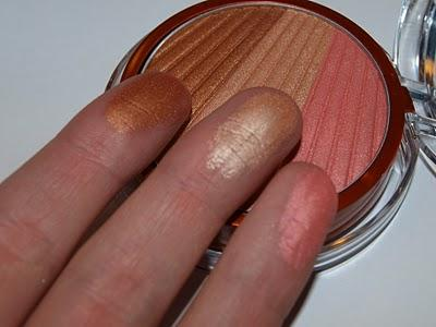 L'Oreal Glam Bronze Trio Blush