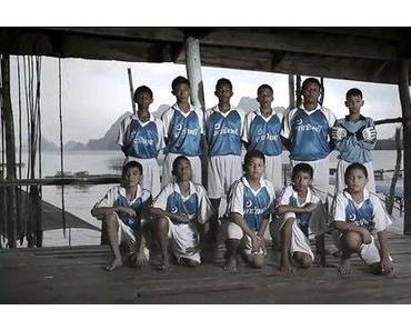 Der schwimmende Fußball-Club