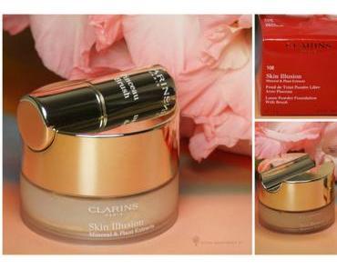 [Beauty] Neu bei CLARINS eine Puderfoundation:Skin Illusion Fond de Teint Poudre Libre