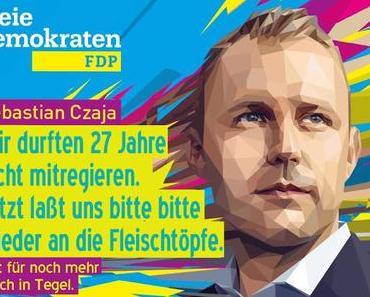 FDP + Wahlen: Berlin braucht Sebastian Czaja und Tegel
