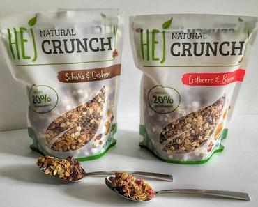 HEJ Natural Crunch Müsli – mit über 20% Proteingehalt