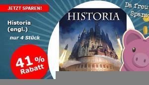 """Spiele-Offensive Aktion """"Sparschwein""""-Gruppendeal Historia"""