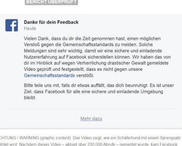 Facebook: Bundesregierung schützt Gewaltverherrlichung und Hassbotschaften von Islamisten