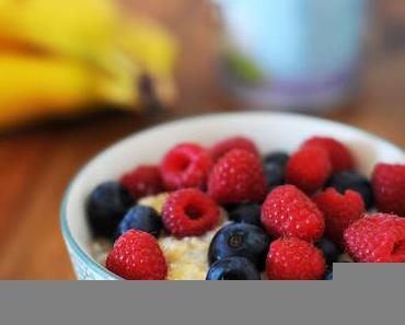 Ein einfaches und gesundes Frühstück