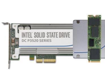 Intel stellt sechs neue Halbleiterfestplatten vor