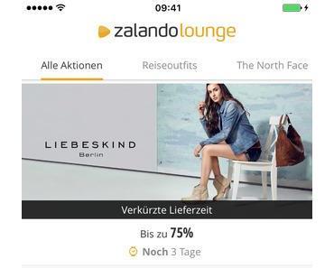 Zalando Lounge der Online Outlet