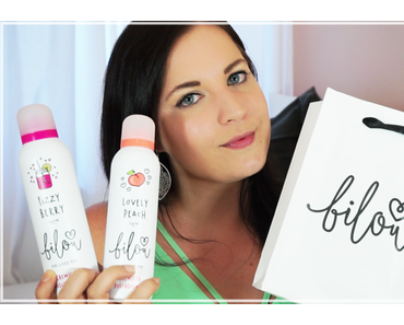 Review | Bilou Duschschaum von BibisBeautyPalace -  Fizzy Berry und Lovely Peach + Video
