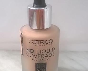 [Review] Catrice HD Liquid Coverage Foundation 020 Rose Beige + ISANA Style2Create Hidden Control Spurenloses Styling Gel :)