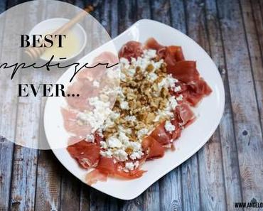 [cooks...] Appetizer Recommendation - Serano Ham with Walnuts, Feta and Honey