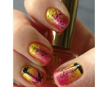 [Nails] NailArt-Dienstag: Tropic mit KIKO, MANHATTAN & Stamping